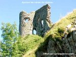 Apchon Castle, a tower, close to the Limon Puy Mary guesthouse in the Cantal