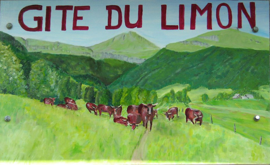 Gite du Limon - Puy Mary Cantal: Entrez