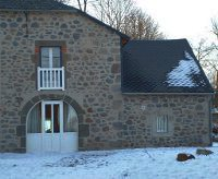the Limon Puy Mary guesthouse in winter